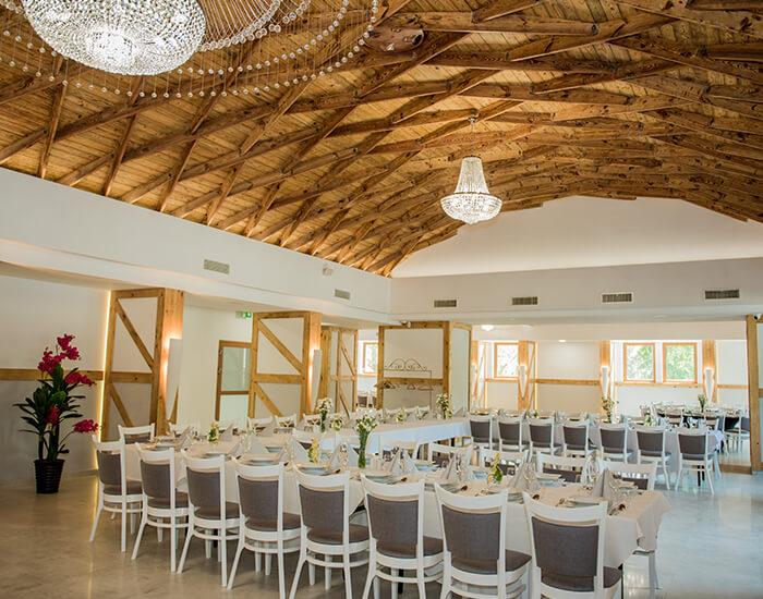 sala weselna gliwice - stół